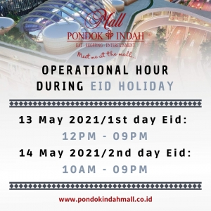 Operational Hour During Eid Holiday