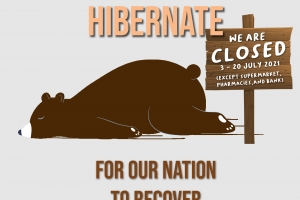 Let's Hibernate For Our Nation To Recover