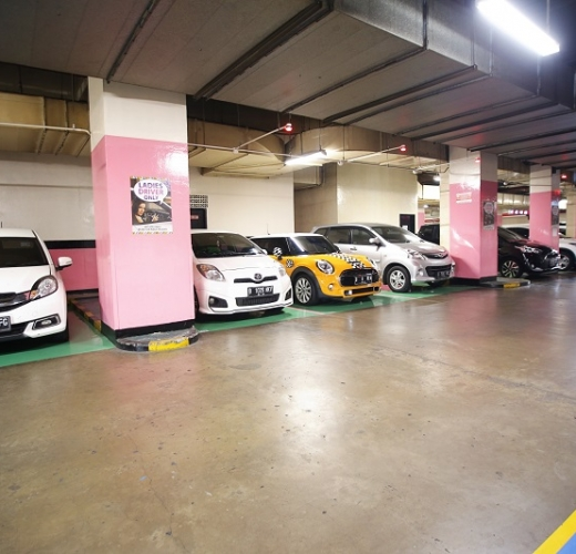 Ladies Driver Parking Area  Pondok Indah Mall