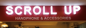 Scroll Up Store at Pondok Indah Mall