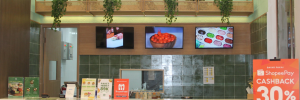 Hadi kitchen Salad Bar at Pondok Indah Mall